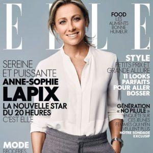 couverture magazine Elle Zielinska